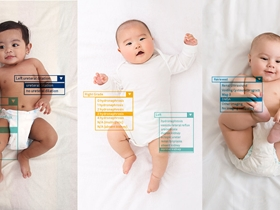 EPIC module showing babies laying on their back.