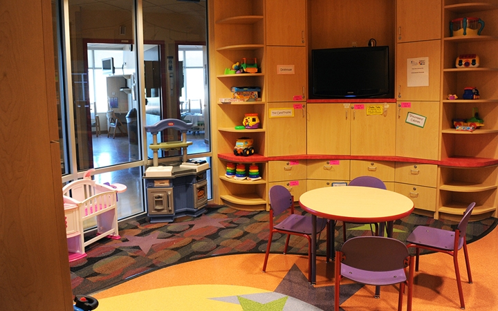 Memorial Hospital patient play room