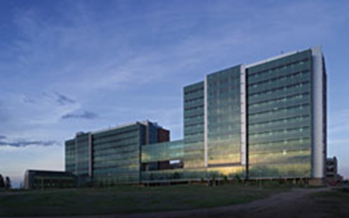 The research complex on the Anschutz Medical Campus.