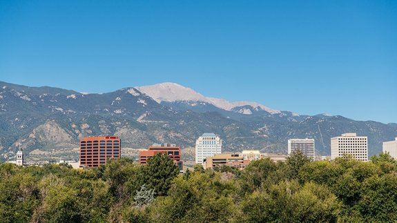 Southern Colorado campus during the daytime