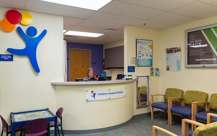Orthopedic Care, Centennial patient exam room