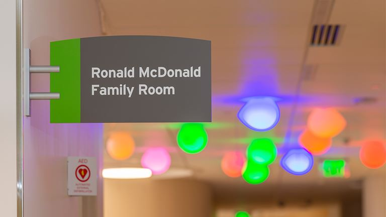 Children's Hospital Colorado, Colorado Springs Ronald McDonald Family Room