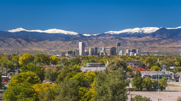 Denver skyline during the daytime