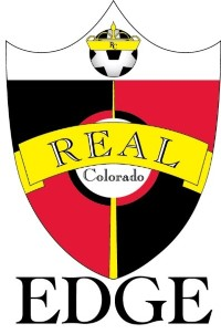 Real Colorado EDGE soccer club logo