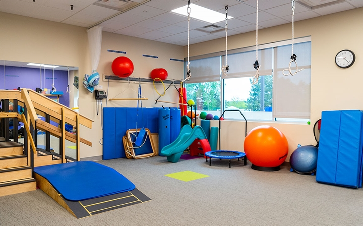 Therapy room in Highlands Ranch