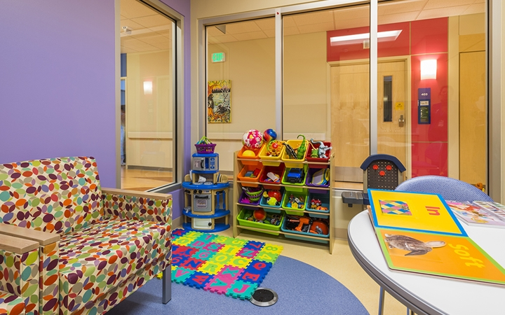 South Campus patient play area