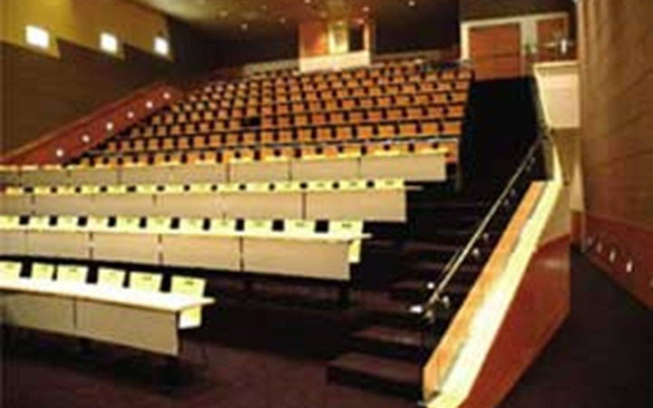 An auditorium on the Anschutz Medical Campus.