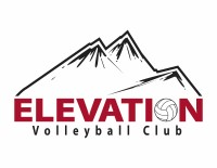 Elevation volleyball club logo