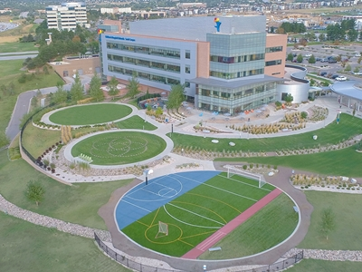 The Sports Therapy Field at Children's Hospital Colorado