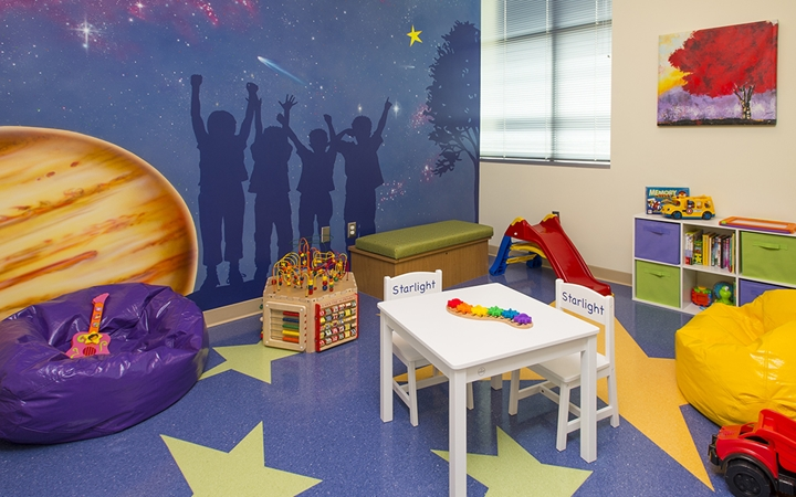 Briargate patient play area