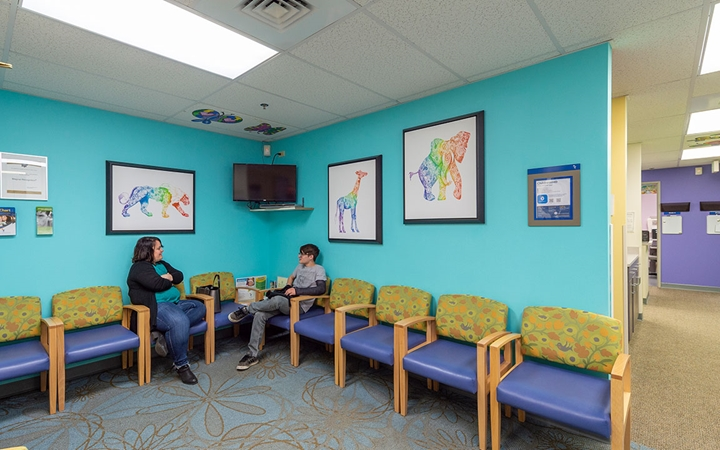 Orthopedic Care, Centennial patient waiting room