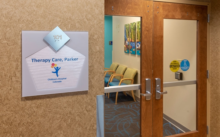 Therapy Care, Parker front entrance