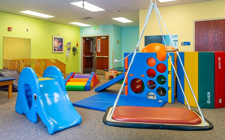 Printers Park Therapy patient play area