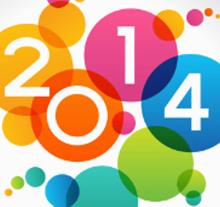 Colorful circles and the year 2014