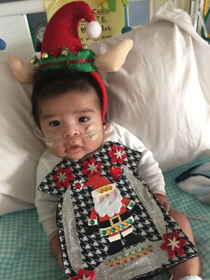 the tiniest patients at childrens hospital colorado celebrated the holidays and looked adorable in ugly christmas sweaters that were handmade and donated - Childrens Ugly Christmas Sweaters