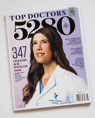 "5280 Magazine Names 94 Children's Colorado ""Top Docs"""